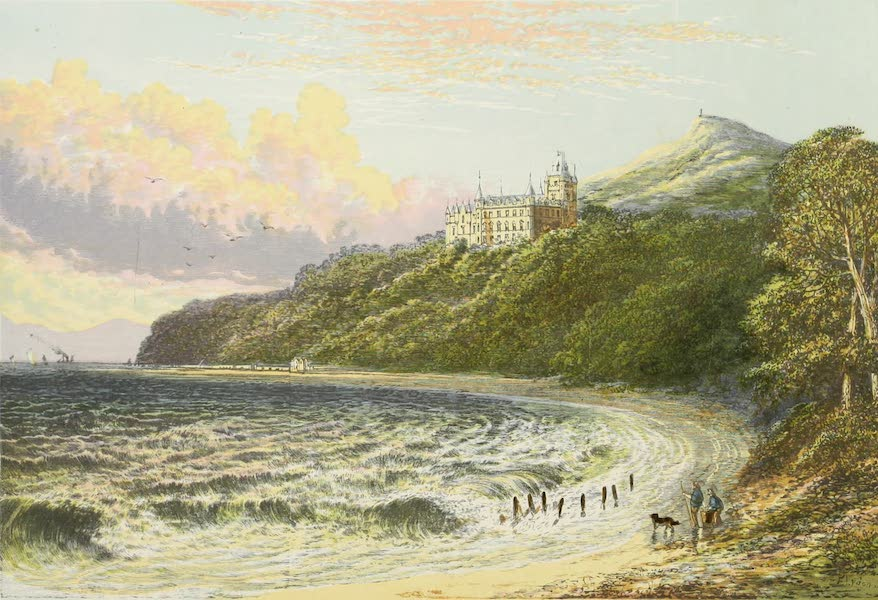 County Seats of Great Britain and Ireland Vol. 2 - Dunrobin Castle (1880)