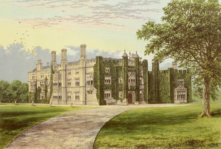 County Seats of Great Britain and Ireland Vol. 2 - Drakelove Hall (1880)