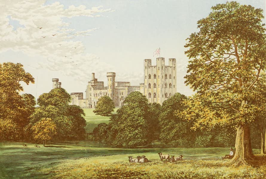County Seats of Great Britain and Ireland Vol. 2 - Penrhyn Castle (1880)
