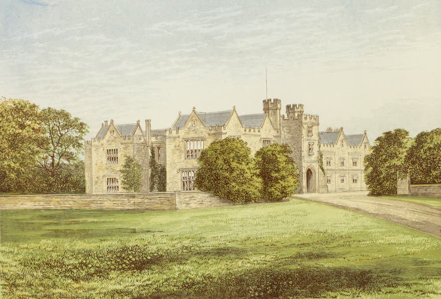 County Seats of Great Britain and Ireland Vol. 2 - Wytham Abbey (1880)