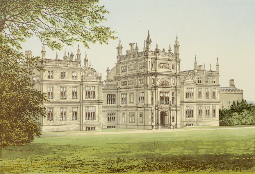 County Seats of Great Britain and Ireland Vol. 2 - Corsham Court (1880)