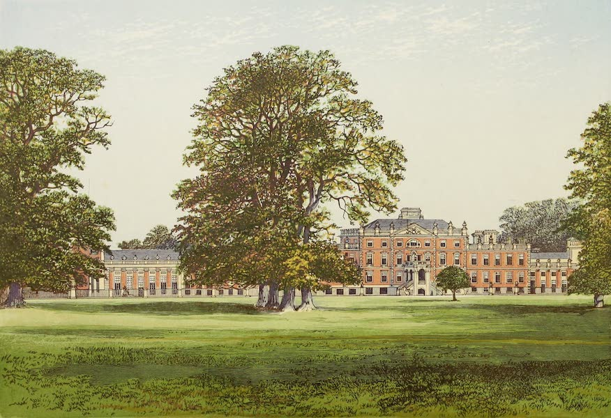 County Seats of Great Britain and Ireland Vol. 2 - Wimpole Hall (1880)