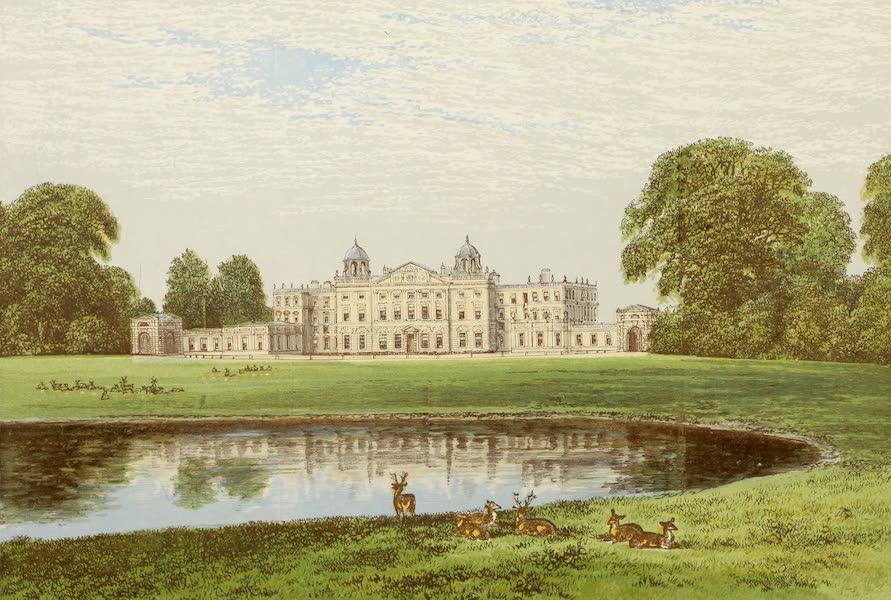 County Seats of Great Britain and Ireland Vol. 2 - Badminton House (1880)
