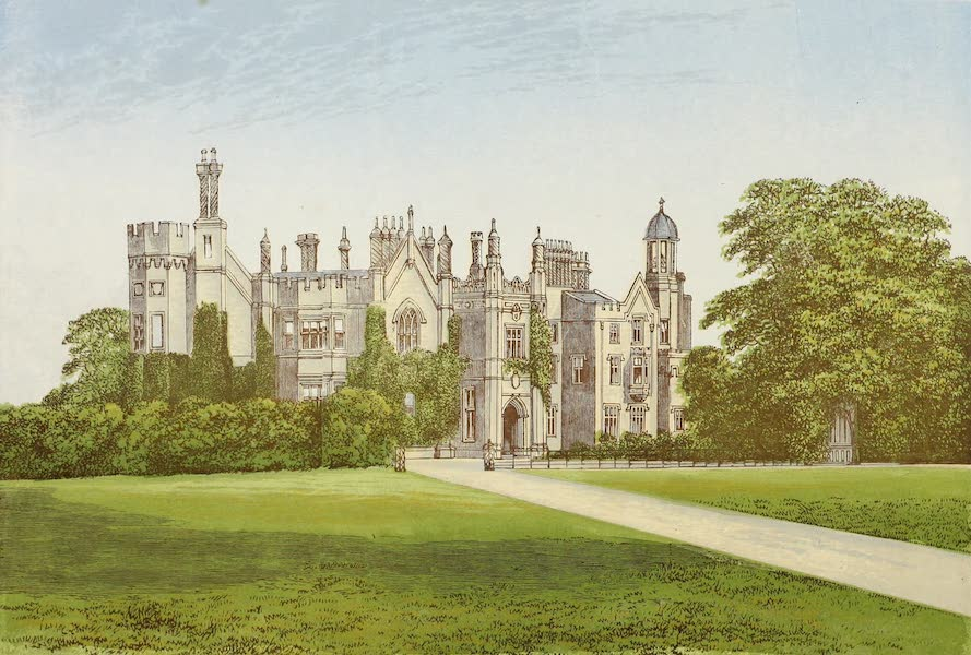 County Seats of Great Britain and Ireland Vol. 2 - Dansbury Palace (1880)