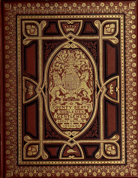 County Seats of Great Britain and Ireland Vol. 3 - Front Cover (1880)