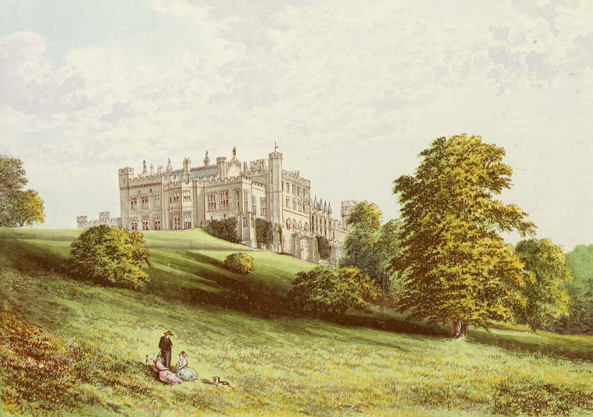 County Seats of Great Britain and Ireland Vol. 3 - Lambton Castle (1880)
