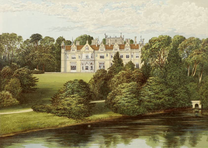 County Seats of Great Britain and Ireland Vol. 3 - Keele Hall (1880)
