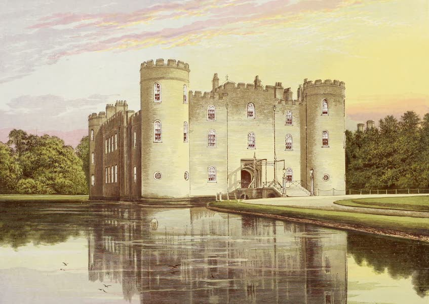 County Seats of Great Britain and Ireland Vol. 3 - Shirburn Castle (1880)