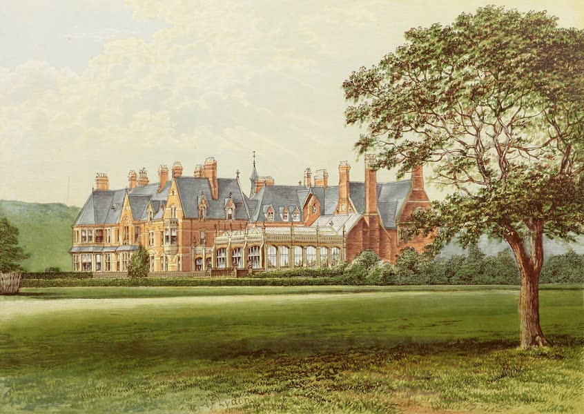 County Seats of Great Britain and Ireland Vol. 3 - Hutton Hall (1880)