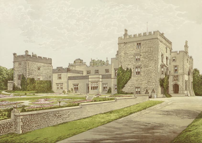 County Seats of Great Britain and Ireland Vol. 3 - Muncaster Castle (1880)