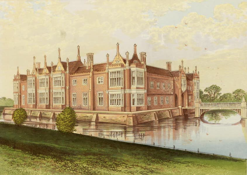 County Seats of Great Britain and Ireland Vol. 3 - Helmingham Hall (1880)