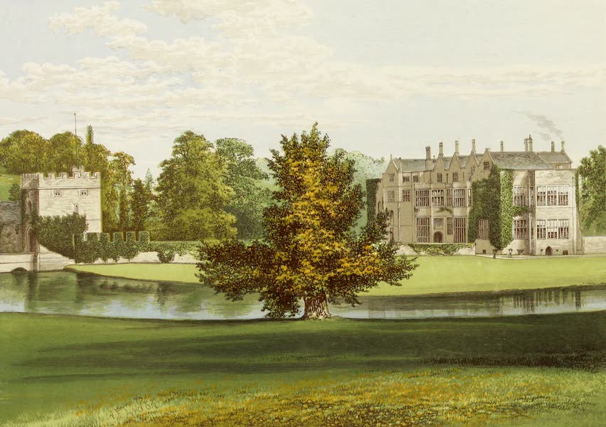 County Seats of Great Britain and Ireland Vol. 3 - Broughton Castle (1880)