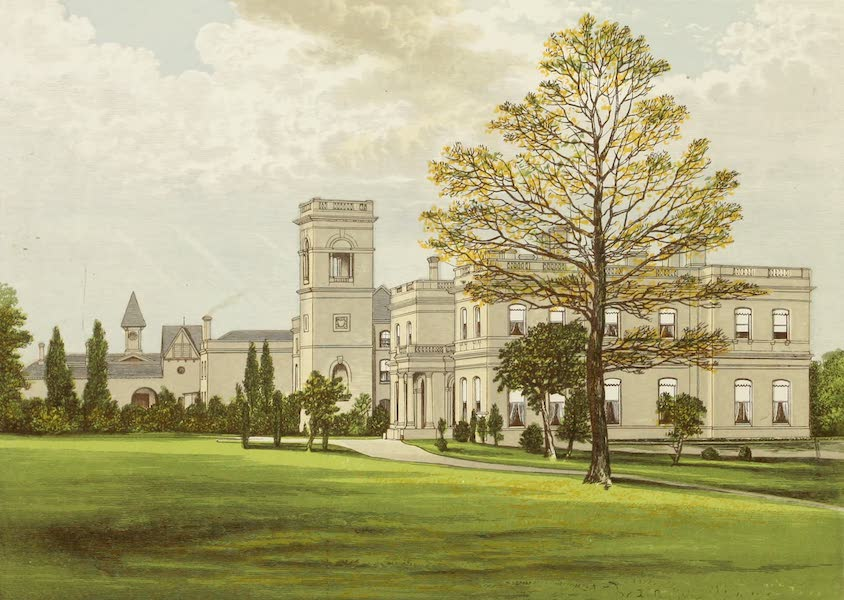 County Seats of Great Britain and Ireland Vol. 3 - Stowlangtoft Hall (1880)