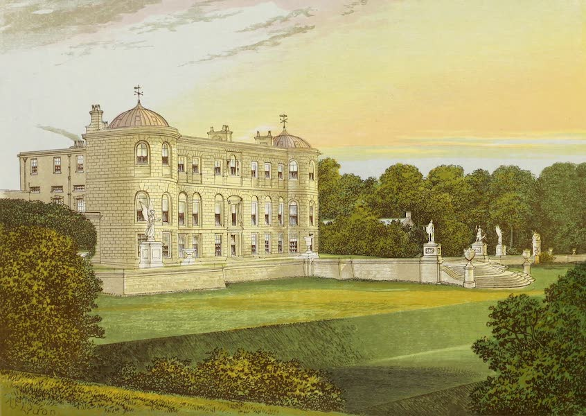 County Seats of Great Britain and Ireland Vol. 3 - Powerscourt (1880)