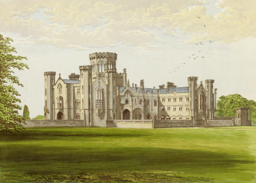 County Seats of Great Britain and Ireland Vol. 3 - Studley Castle (1880)