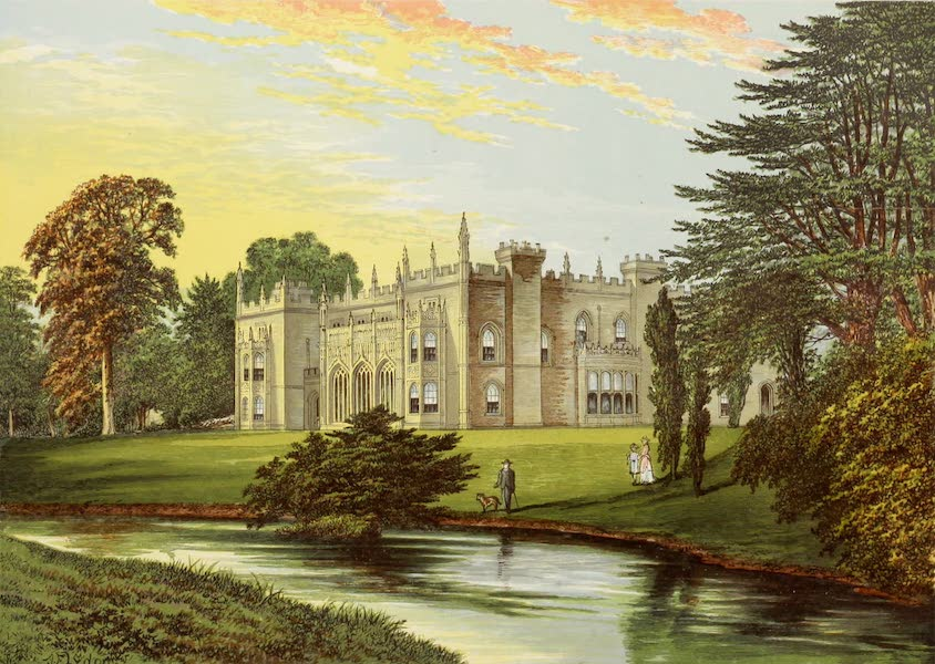 County Seats of Great Britain and Ireland Vol. 3 - Arbury Hall (1880)