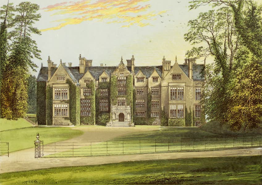 County Seats of Great Britain and Ireland Vol. 3 - Wroxton Abbey (1880)