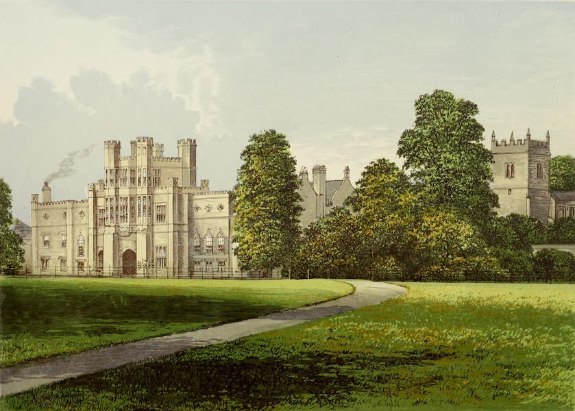 County Seats of Great Britain and Ireland Vol. 3 - Croughton Court (1880)
