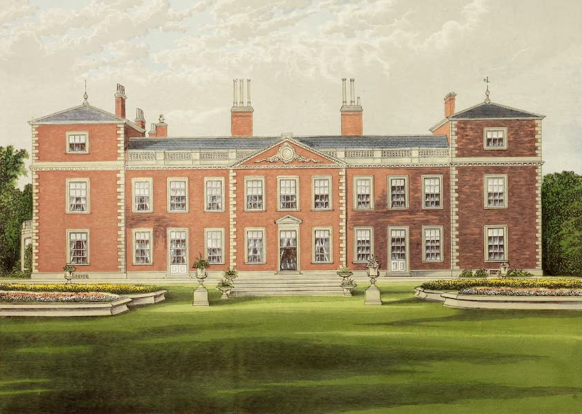 County Seats of Great Britain and Ireland Vol. 3 - Euston Hall (1880)
