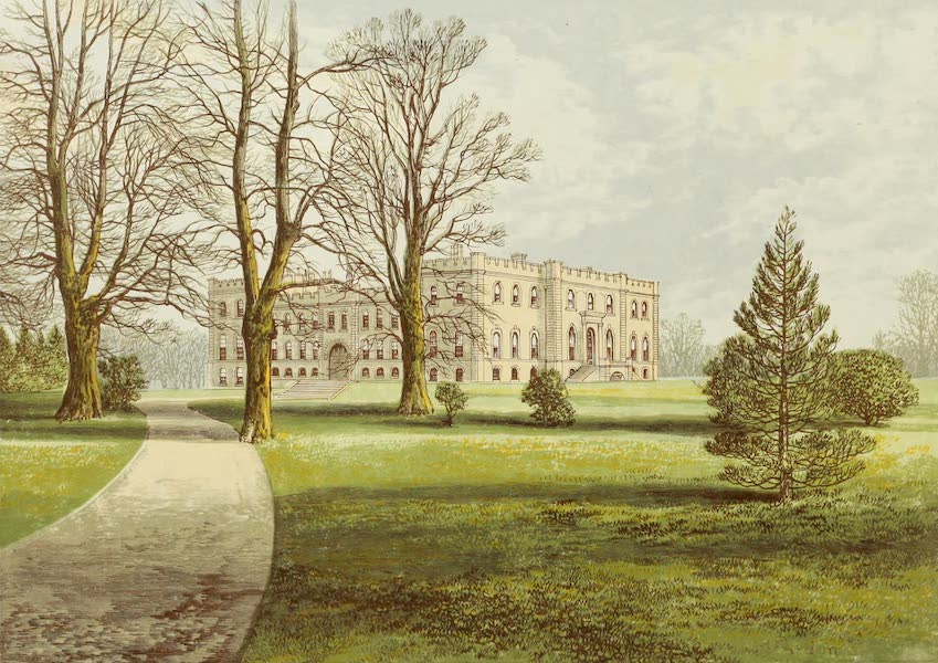 County Seats of Great Britain and Ireland Vol. 3 - Kimbolton Castle (1880)