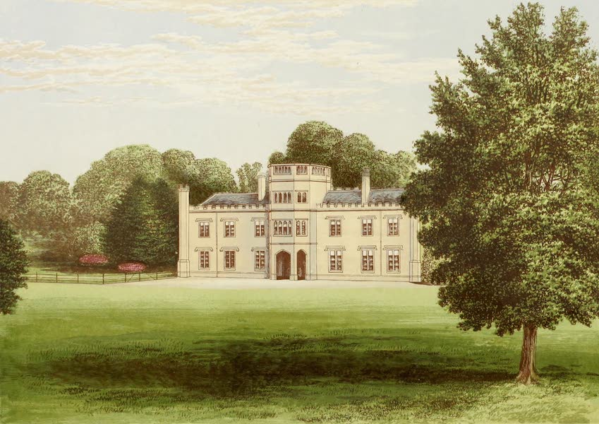 County Seats of Great Britain and Ireland Vol. 3 - Wolseley Hall (1880)