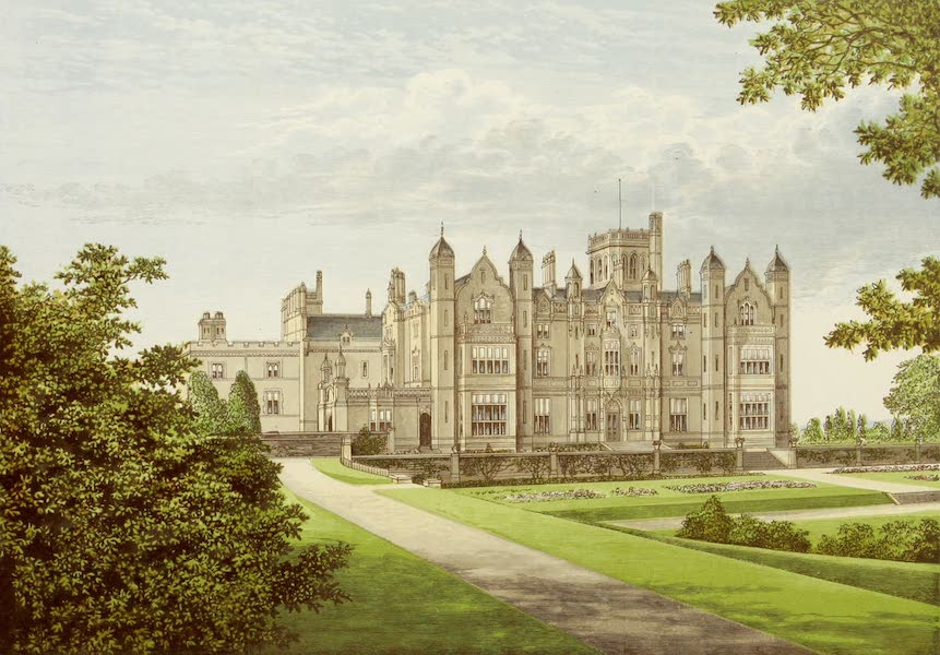 County Seats of Great Britain and Ireland Vol. 3 - Merevale Hall (1880)