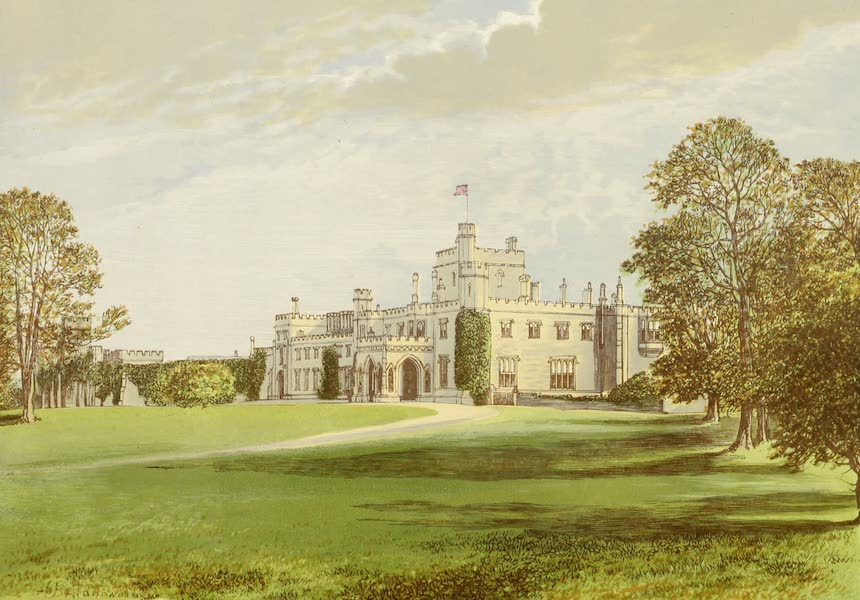 County Seats of Great Britain and Ireland Vol. 3 - Moreton Hall (1880)