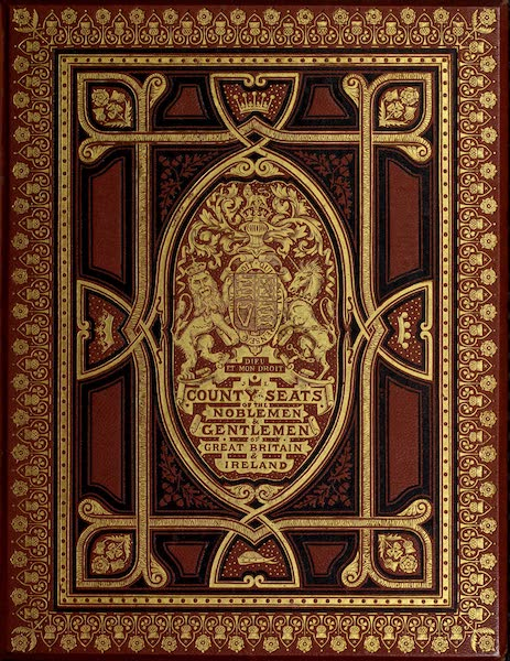 County Seats of Great Britain and Ireland Vol. 4 - Front Cover (1880)
