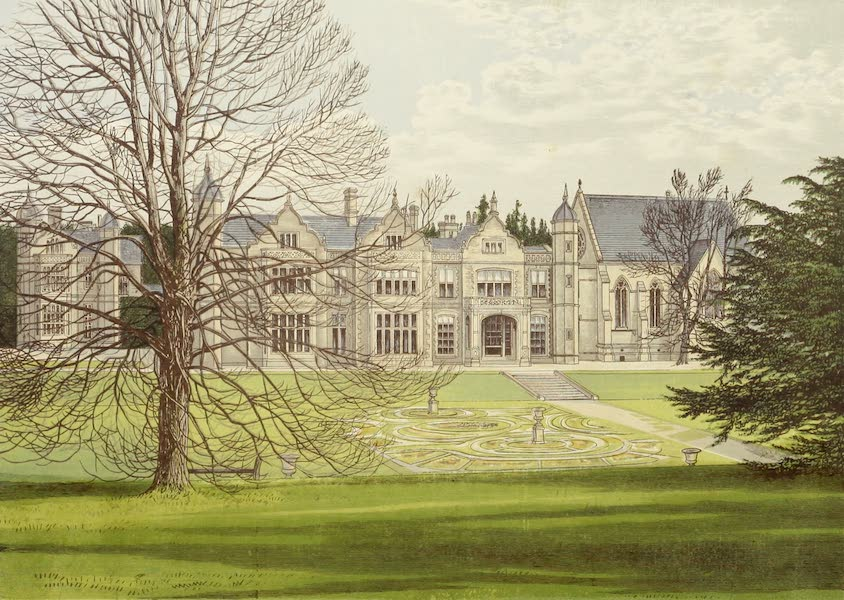County Seats of Great Britain and Ireland Vol. 4 - Exton House (1880)