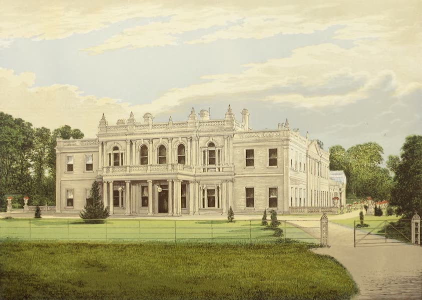 County Seats of Great Britain and Ireland Vol. 4 - Rolleston Hall (1880)