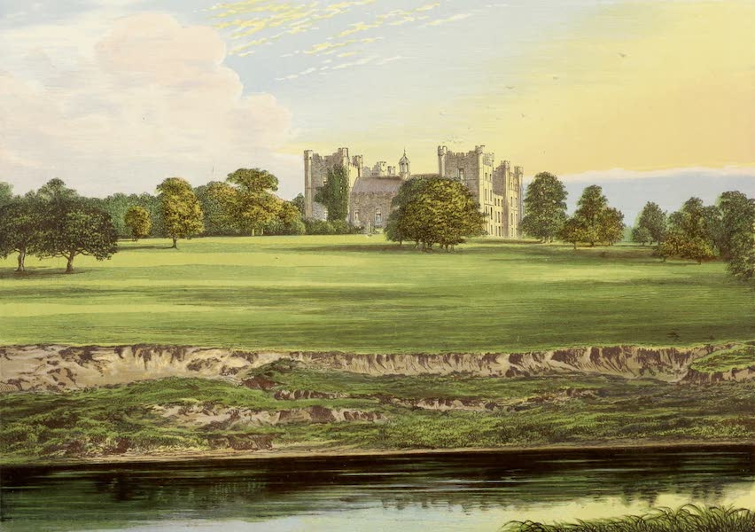 County Seats of Great Britain and Ireland Vol. 4 - Lumley Castle (1880)