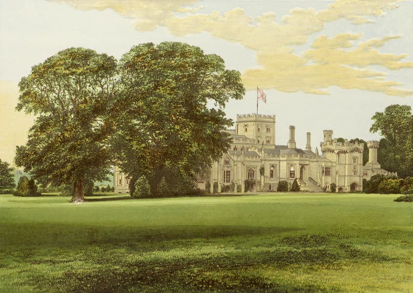 County Seats of Great Britain and Ireland Vol. 4 - Elton Hall (1880)