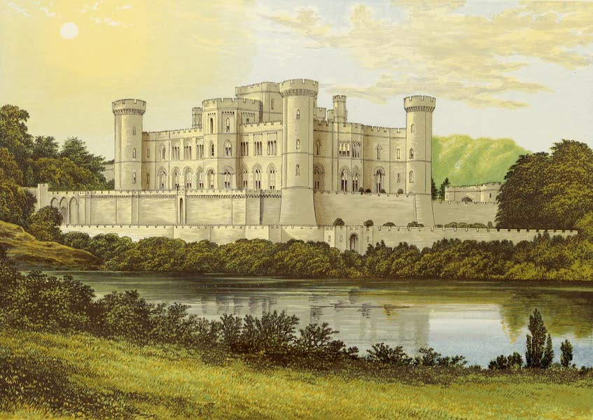 County Seats of Great Britain and Ireland Vol. 4 - Eastnor Castle (1880)