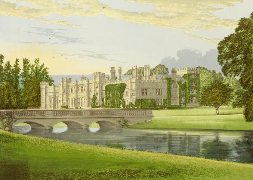 County Seats of Great Britain and Ireland Vol. 4 - Deene Park (1880)