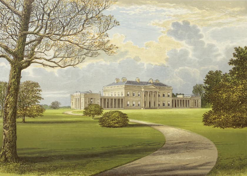 County Seats of Great Britain and Ireland Vol. 4 - Castle Coole (1880)
