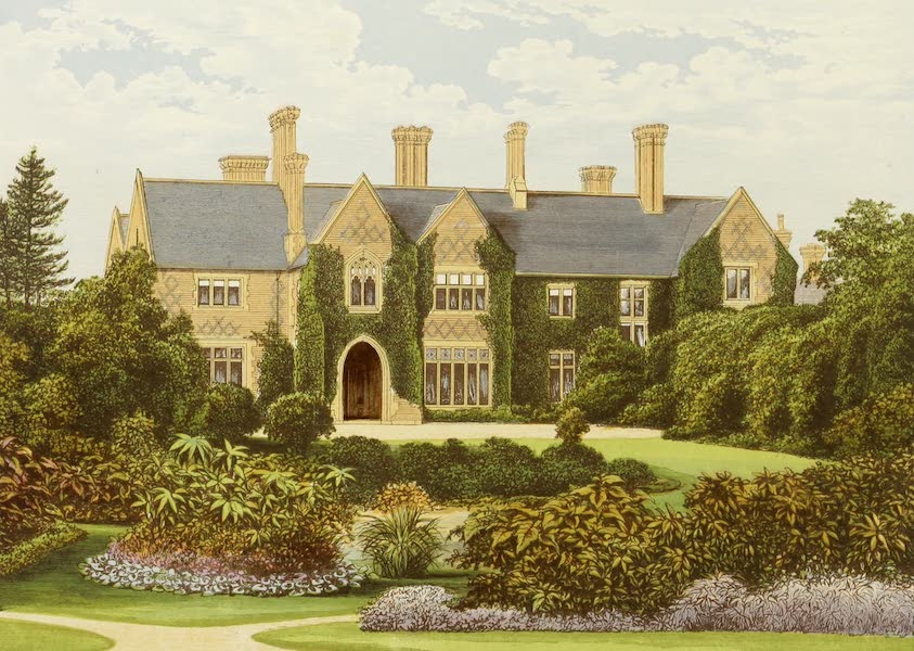 County Seats of Great Britain and Ireland Vol. 4 - Oxley Manor (1880)