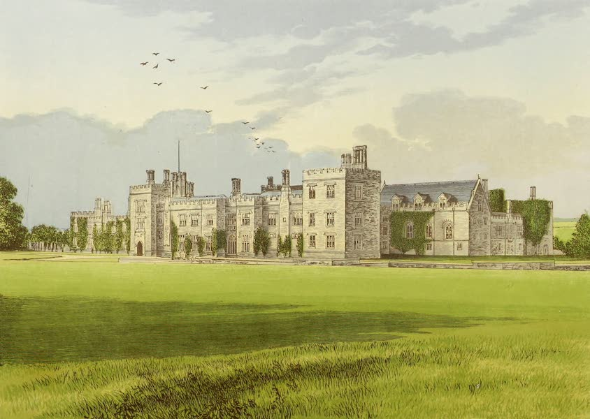 County Seats of Great Britain and Ireland Vol. 4 - Penshurt Castle (1880)