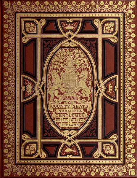 County Seats of Great Britain and Ireland Vol. 5 - Front Cover (1880)