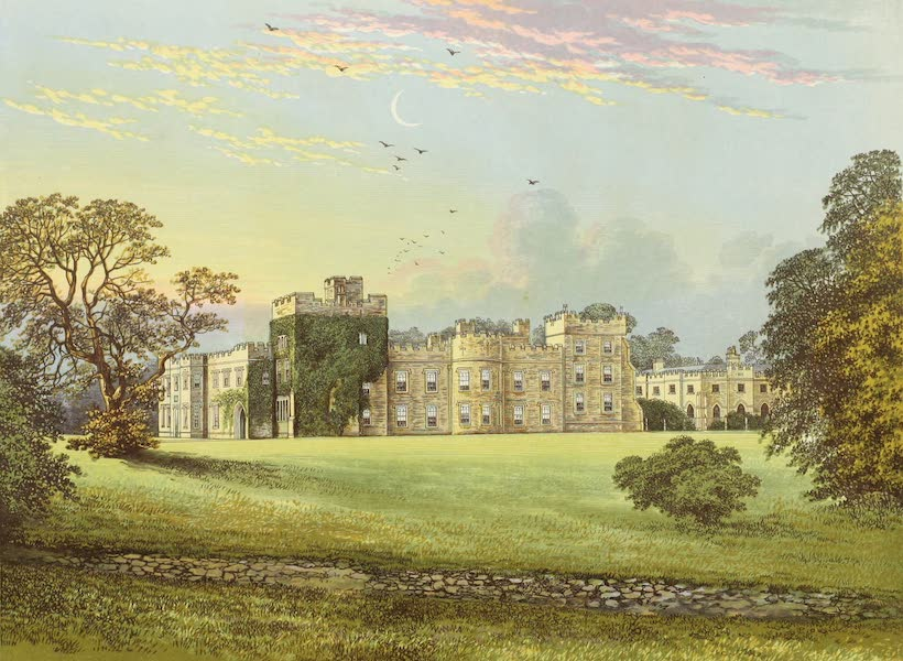 County Seats of Great Britain and Ireland Vol. 5 - Hornby Castle (1880)