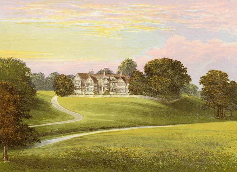 County Seats of Great Britain and Ireland Vol. 5 - Bramhall Hall (1880)