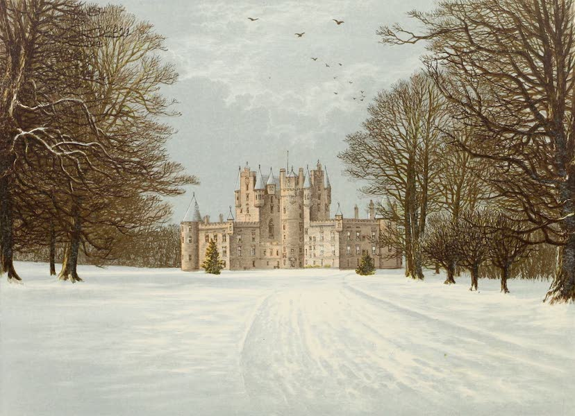 County Seats of Great Britain and Ireland Vol. 5 - Glamis Castle (1880)