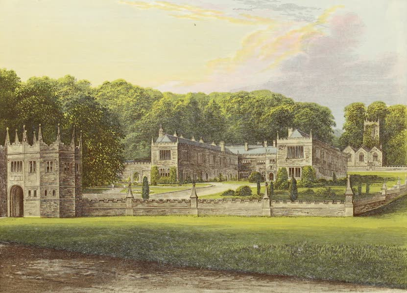 County Seats of Great Britain and Ireland Vol. 5 - Lanhydrock House (1880)