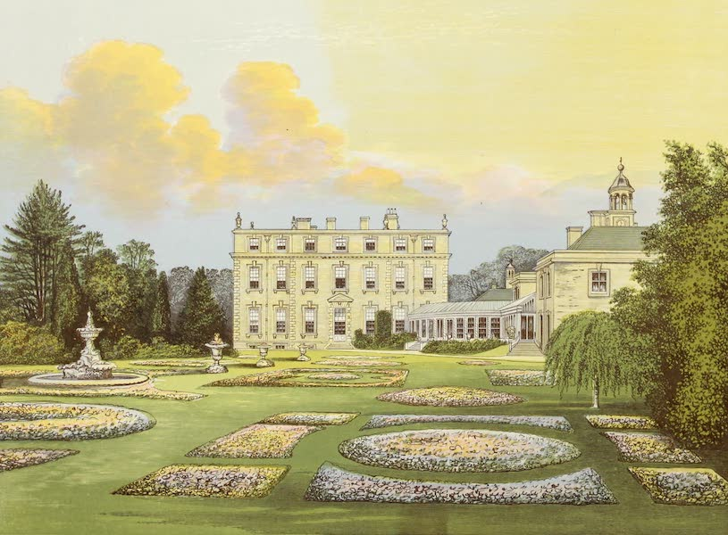 County Seats of Great Britain and Ireland Vol. 5 - Ditchley House (1880)