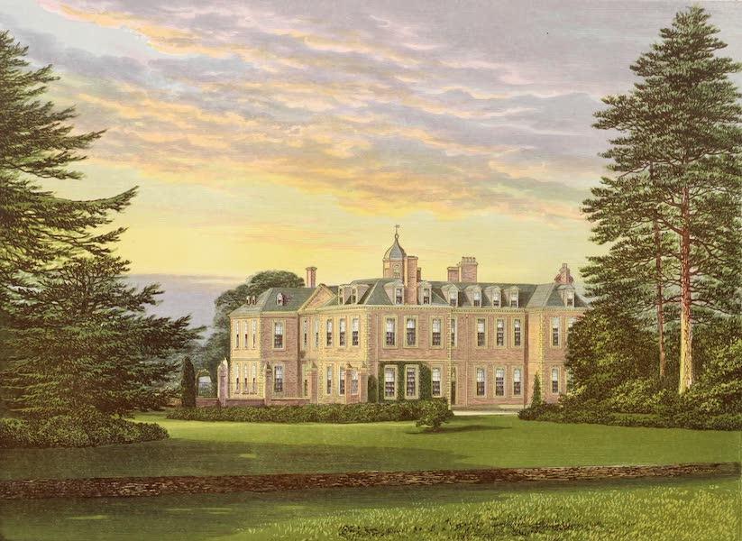 County Seats of Great Britain and Ireland Vol. 5 - Hanbury Hall (1880)