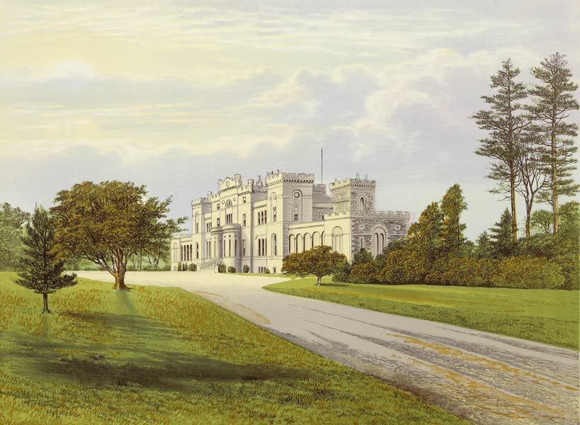 County Seats of Great Britain and Ireland Vol. 5 - Rossie Castle (1880)