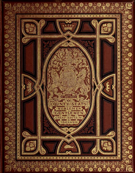 County Seats of Great Britain and Ireland Vol. 6 - Front Cover (1880)