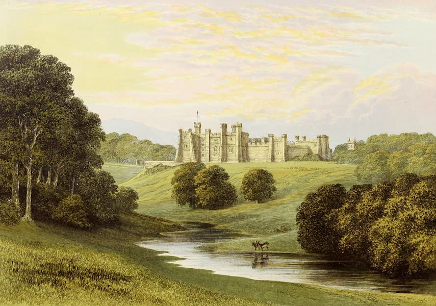 County Seats of Great Britain and Ireland Vol. 6 - Brancepeth Castle (1880)