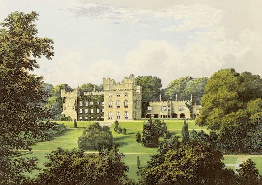 County Seats of Great Britain and Ireland Vol. 6 - Hutton Hall (1880)