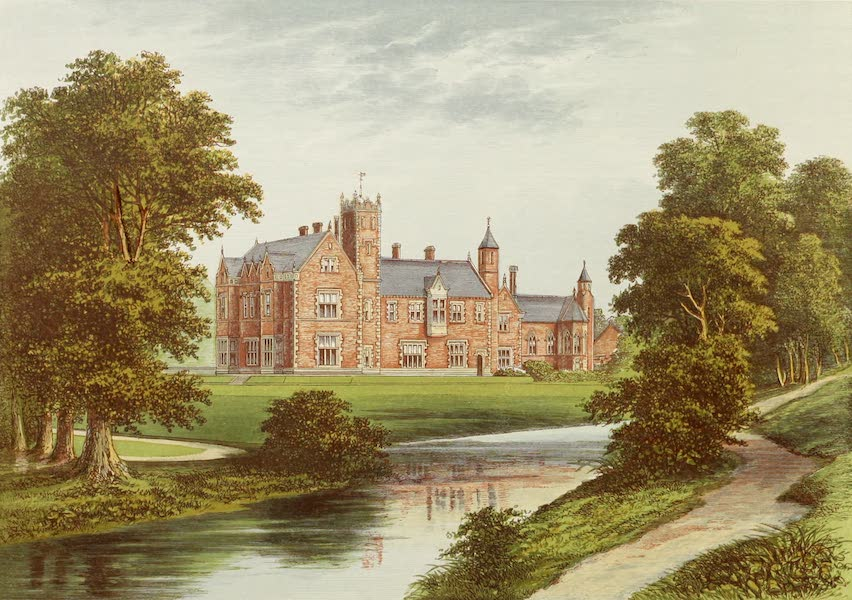 County Seats of Great Britain and Ireland Vol. 6 - Thicket Priory (1880)