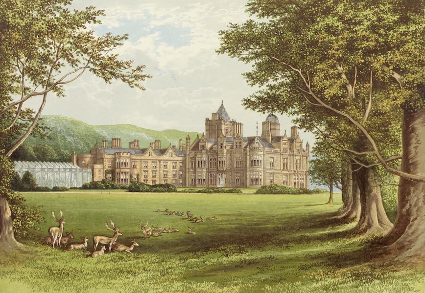 County Seats of Great Britain and Ireland Vol. 6 - Holker Hall (1880)